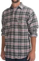 Moose Creek Brawny Plaid Shirt - 9 oz. Flannel, Long Sleeve (For Men)