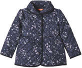 Joe Fresh Toddler Girls' Quilt Barn Jacket, JF Midnight Blue (Size 5)