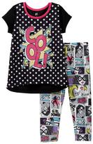 Petit Lem Cool! Comic Pajama - 2-Piece Set (Little Girls & Big Girls)