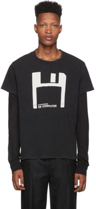 R 13 Black Radiohead Edition Floppy Disk T-Shirt
