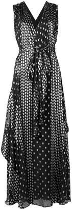 Diane von Furstenberg polka dot dress