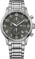 HUGO BOSS Aeroliner Stainless Steel Bracelet Chronograph Watch