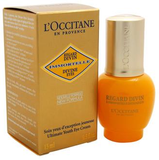 L'Occitane .5Oz Immortelle Divine Eyes Ultimate Youth Eye Treatment