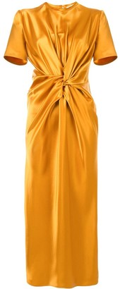 Ports 1961 Twisted Midi Dress