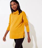 LOFT Maternity Funnel Neck Sweatshirt