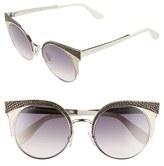 Jimmy Choo Women's 'Ora' 51Mm Cat Eye Sunglasses - Light Gold