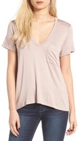Lush Women's Deep-V Neck Tee