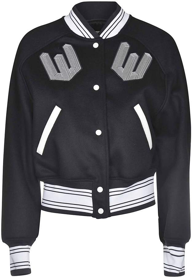 Off-White Off White Patch Bomber