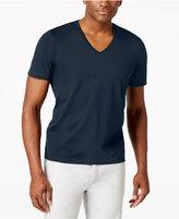 INC International Concepts Men's V-Neck Polished T-Shirt, Only at Macy's