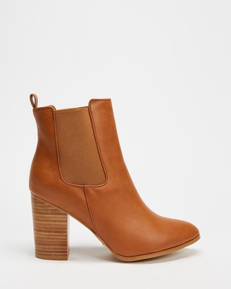 Billini - Women's Brown Chelsea Boots - Jaida Ankle Boots - Size 5 at The Iconic