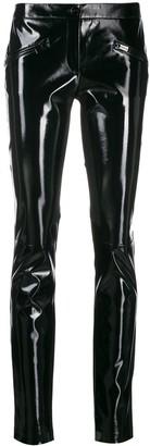 Barbara Bui patent skinny trousers