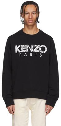 Kenzo Black Paris Sweatshirt