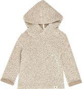 River Island Mini boys cream hoodie knitted sweater
