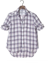 Frank And Eileen Womens Limited Edition Eileen Linen Plaid Shirt