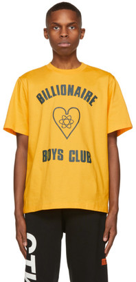 Billionaire Boys Club Yellow Heart Logo T-Shirt