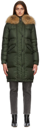 Mr & Mrs Italy Green Down Parka