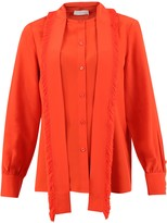Tory Burch Ruched Blouse