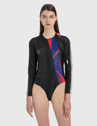 Koché Patched Bodysuit