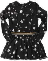 Zadig & Voltaire Zadig&voltaire Metallic Stars Silk Voile Dress