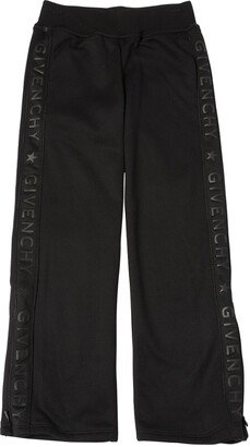 Givenchy Logo Side Bands Techno Sweatpants