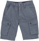 Diesel 'Pansi-El Cargo' Shorts (Kids) - Monument Grey-4 Years