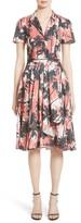 Jason Wu Women's Print Cotton Fit & Flare Shirtdress