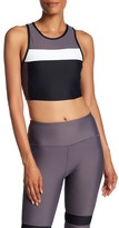 C&C California Colorblock Padded Crop Tank