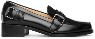 Christian Louboutin Monmoc Donna flat black loafer