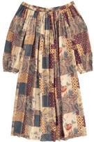 Swildens Sale - Qirck Patchwork Dress with Belt