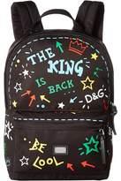 Dolce & Gabbana Graffiti Nylon Backpack Backpack Bags