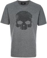 Hydrogen skull embellished T-shirt