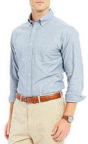 Daniel Cremieux Solid Pinpoint Long-Sleeve Woven Shirt