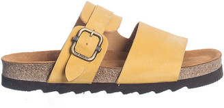 Ten Points AB - Yellow Vivienne Sandal - Vegetable Tanned Nubuck - 37   yellow - Yellow/Yellow
