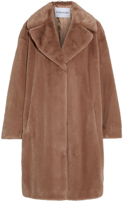 Stand Studio Camille Oversized Faux Fur Coat