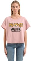 Moschino Underbear Printed Cotton Jersey T-Shirt
