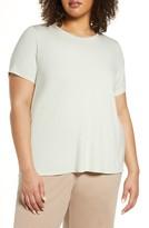 Eileen Fisher Jewel Neck T-Shirt