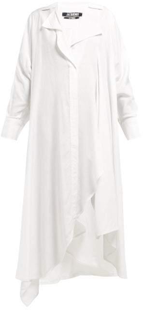 c120c34fd37 Rosaria Voluminous Maxi Shirtdress - Womens - White