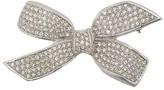 Christian Dior 1990's pre-owned rhinestone bow brooch