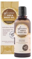 Out of Africa Shea Body Oil Vanilla - 9 oz