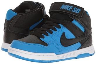 Nike Mogan Mid 2 Jr (Little Kid/Big Kid) (Black/Photo Blue) Boys Shoes