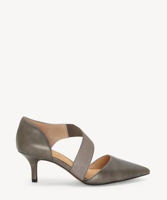 Sole Society Cc Corso Como CC Corso Como Women's Denice Pointed Toe Pumps Black Leather Size 5 Suede From