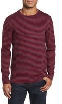 BOSS Men's Stripe Long Sleeve T-Shirt