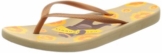 Freewaters Women's Becca Print Zori Sandal with Arch Support Geta