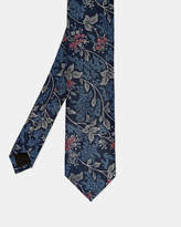 Ted Baker Floral jacquard silk tie