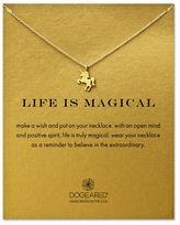 Dogeared 14K Goldplated Unicorn Pendant Necklace
