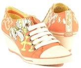 Ed Hardy Brett Wedge women Sneakers Size 7