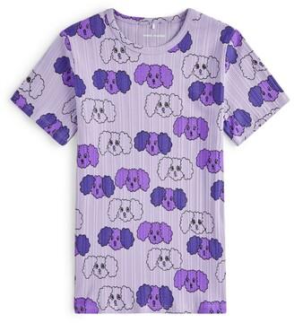Mini Rodini Fluffy Dog Print T-Shirt (1.5-11 Years)