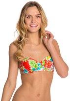 Bikini Lab Hot & Cold Underwire Bandeau Bikini Top 8125397