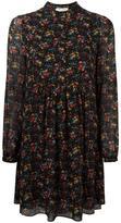 Saint Laurent wild flower print folk dress - women - Silk - 36