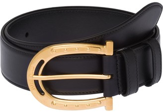 Miu Miu City buckle belt